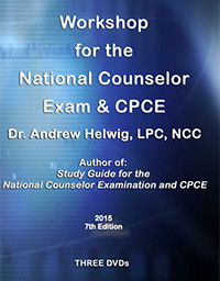 NCE Workshop DVDs for National Counselor Exam Prep